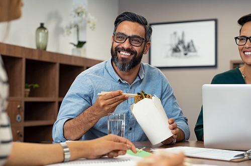 repas au bureau