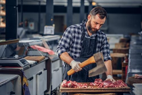 un meat producer pour son restaurant